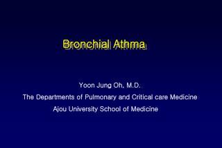 Bronchial Athma