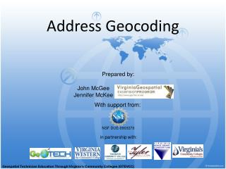 Address Geocoding