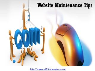 Website Maintainance Tips