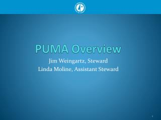 PUMA Overview