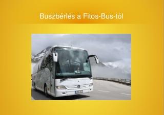Buszbérlés - Fitos-Bus