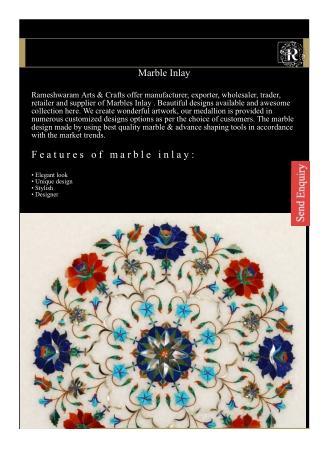 Marble Inlay -Rameshwaramarts