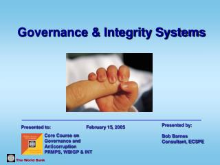 Governance & Integrity Systems