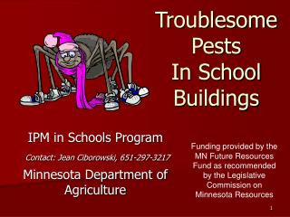 Troublesome Pests In School Buildings