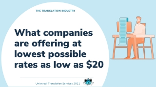 What companies are offering at lowest possible rates as low as $20