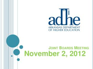 Joint Boards Meeting