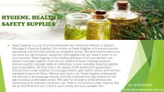 Almond massage oil  - need supplies