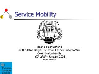 Service Mobility