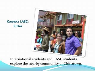 Connect LASC: China
