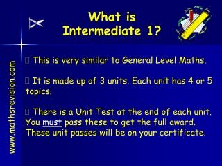 What is Intermediate 1?