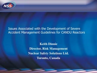 Issues Associated with the Development of Severe Accident Management Guidelines for CANDU Reactors
