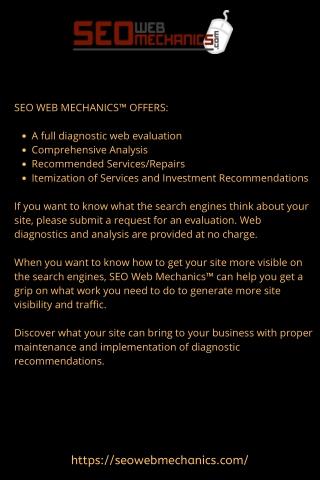 SEO Web Mechanics - Web Design Albany NY