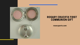 Rosary Crucifix First Communion Gift