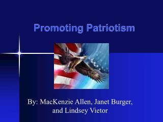 Promoting Patriotism