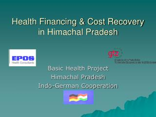 Health Financing & Cost Recovery in Himachal Pradesh