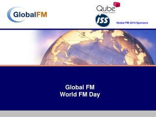 Global FM World FM Day