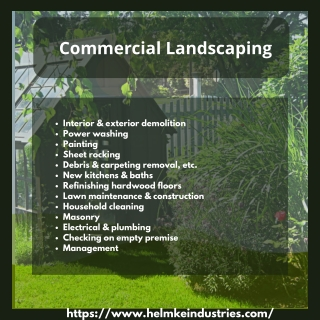 Commercial Lawn Services Rockland County