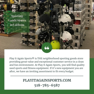 Sporting Goods Stores in Latham
