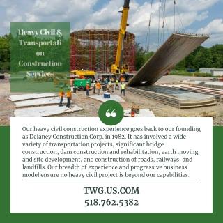Heavy Civil & Transportation Construction Services