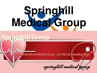 Springhill Medical Group: Anti – aging without Surgery