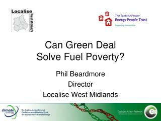 Can Green Deal  Solve Fuel Poverty?