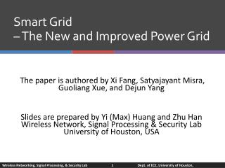 Smart Grid    The New and Improved Power Grid