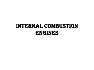 Indicator Diagrams and Internal Combustion Engine Performance Parameters