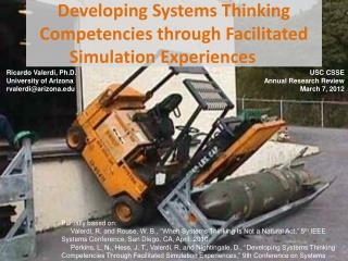 Developing Systems Thinking Competencies through Facilitated Simulation Experiences