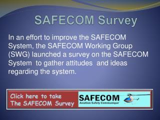 SAFECOM Survey