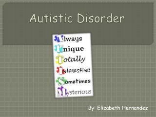 Autistic Disorder
