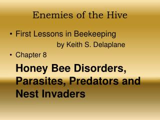 Enemies of the Hive