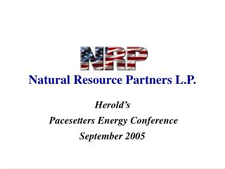 Natural Resource Partners L.P.