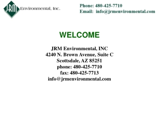 Facts about Environmental solutions