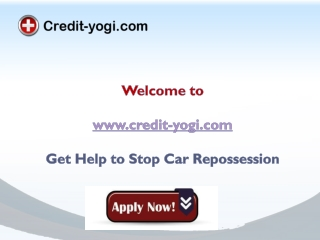 Stop Car Repossession after Bankruptcy