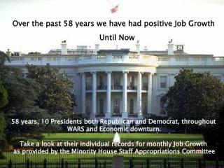 58 years, 10 Presidents both Republican and Democrat, throughout  WARS and Economic downturn. Take a look at their indiv