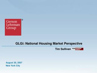 GLGi: National Housing Market Perspective