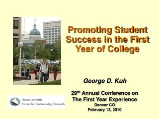 Promoting Student Success in the First Year of College