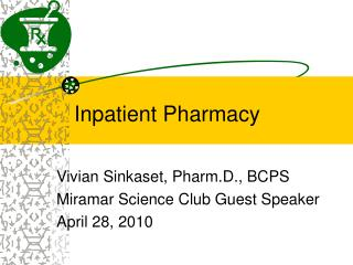 Inpatient Pharmacy
