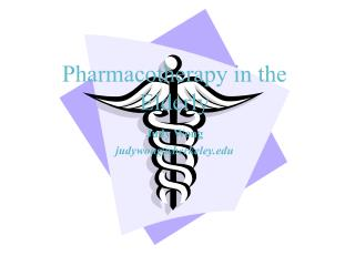 Pharmacotherapy in the Elderly