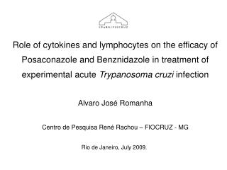 Role of cytokines and lymphocytes on the efficacy of Posaconazole and Benznidazole in treatment of experimental acute Tr