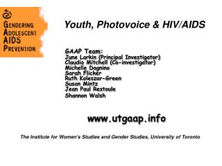 Youth, Photovoice & HIV/AIDS