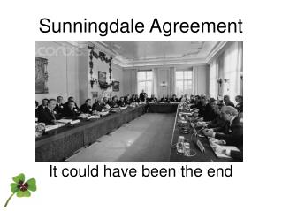 Sunningdale Agreement