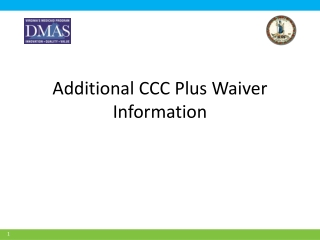 Technology Assisted Waiver