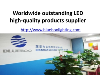 outstanding LED high-quality products supplier