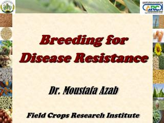Breeding for  Disease Resistance Dr. Moustafa Azab  Field Crops Research Institute