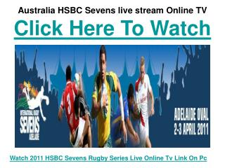 Watch Australia HSBC Sevens Rugby 2011 | USA vs Australia Ma