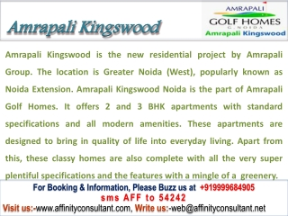 Amrapali Kingswood