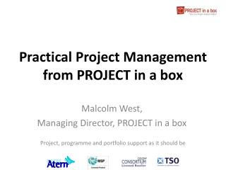 Practical Project Management from PROJECT in a box