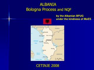 ALBANIA  Bologna Process  and NQF