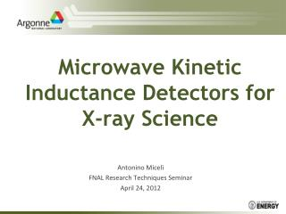 Microwave Kinetic Inductance Detectors for X-ray Science